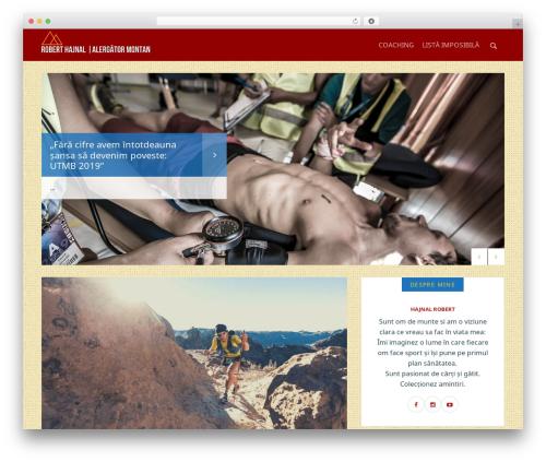 WordPress website template Safarica - roberthajnal.ro