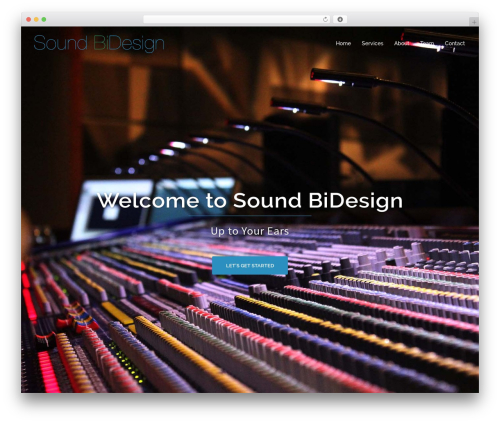 WP template Sydney - soundbidesign.com