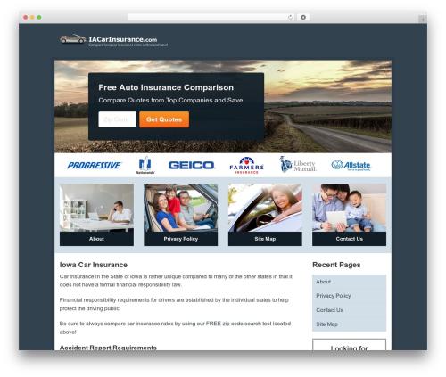 Aperture WordPress theme free download - iacarinsurance.com