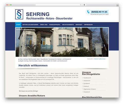 Free WordPress Advanced Recent Posts plugin - rechtsanwaelte-sehring.de