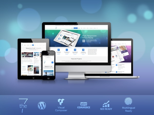 Best WordPress template The7