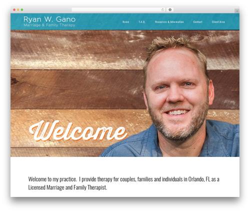 Central theme WordPress free - rwgano.com