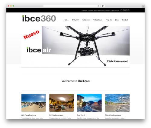 Corona premium WordPress theme - ibce360.com