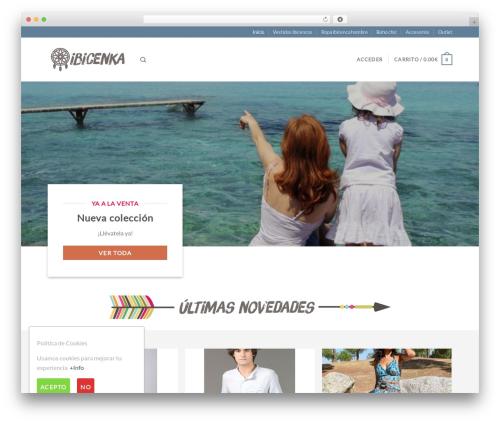 Flatsome WordPress template - ibicenka.com