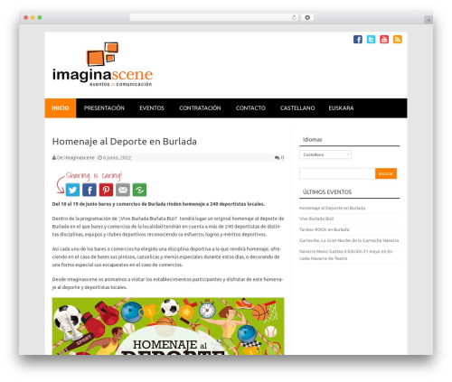 Free WordPress WP Simple Galleries plugin - imaginascene.com