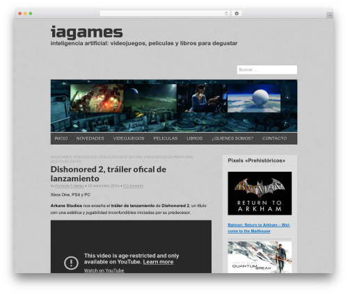 Gridiculous WordPress theme free download - iagames.es