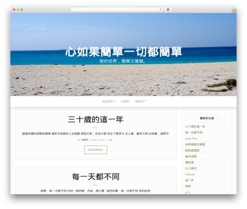 Head Blog WordPress blog template - im543.com