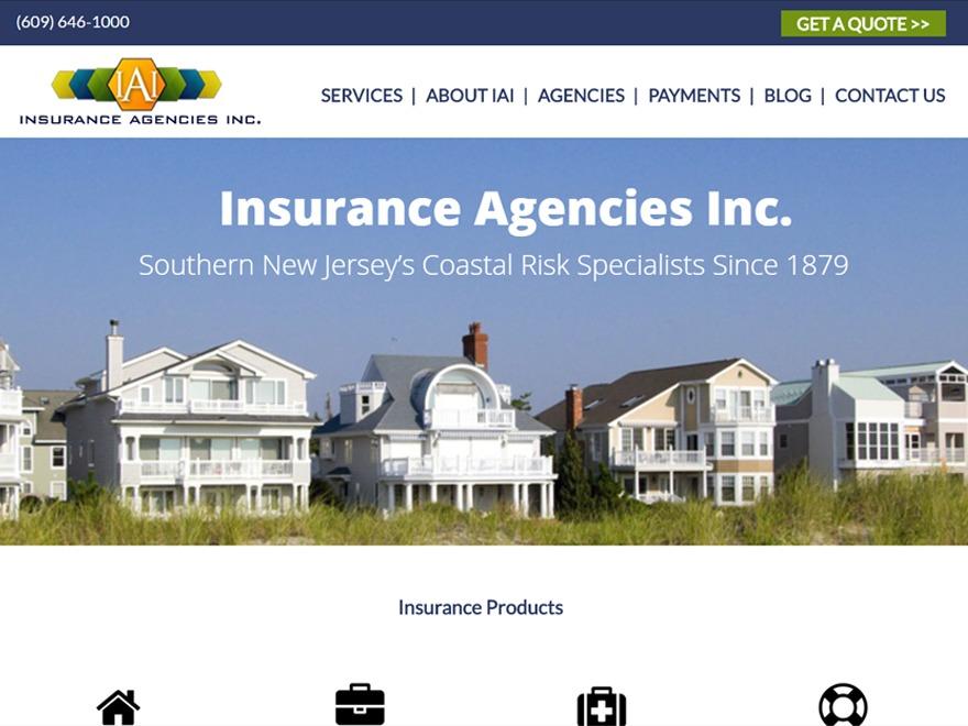 Insurance Agencies Inc. WordPress theme