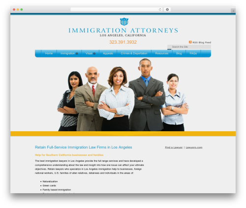 LA Immigration Lawyers Near You business WordPress theme - immigrationhelp-losangeles.com