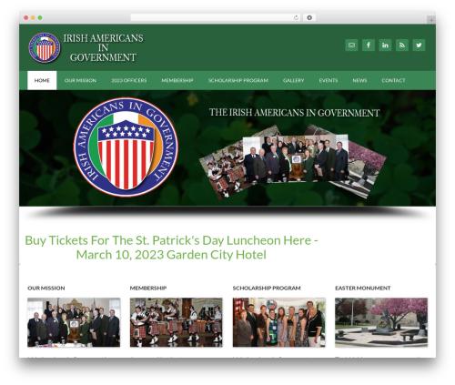 Outreach Pro theme WordPress - iagovt.org