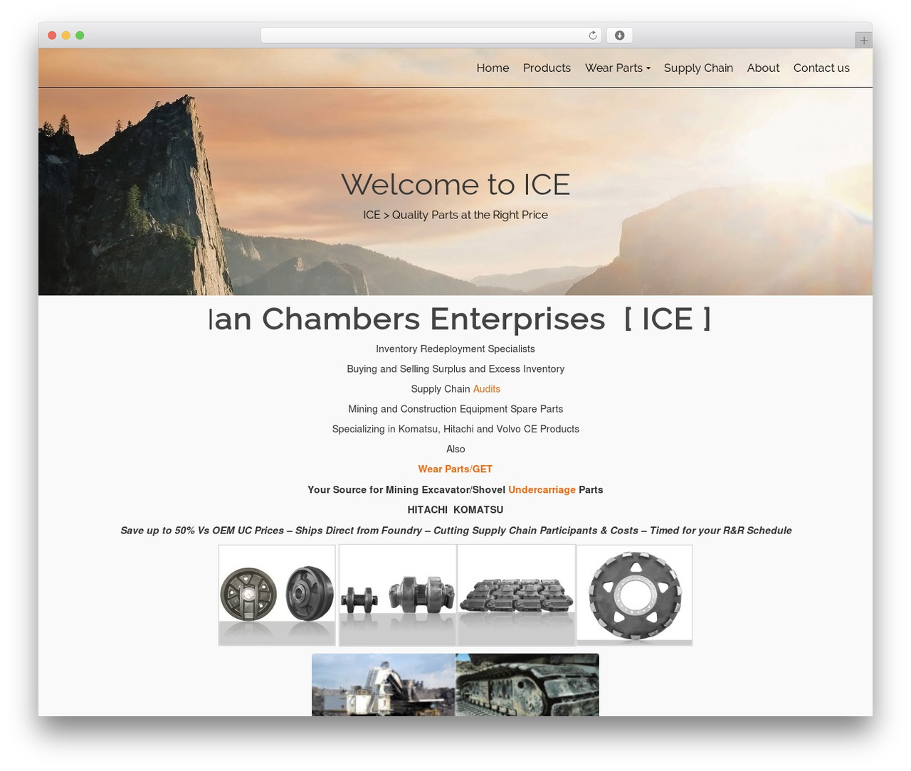 Pinnacle free WordPress theme - ianchambers.com