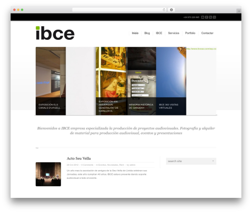 Template WordPress Corona - ibceav.com