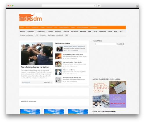 WP-Bold premium WordPress theme - indosdm.com