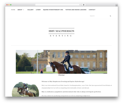 Activello best free WordPress theme - ibby-macpherson.co.uk