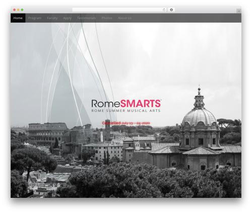 Arcade Basic best free WordPress theme - romesmarts.org