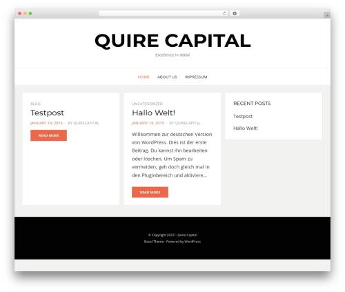 Bezel WordPress theme free download - quirecapital.com