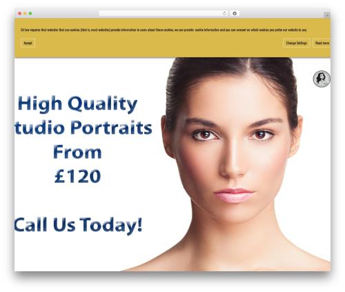 Cutting Edge best WordPress gallery - qualityheadshots.co.uk