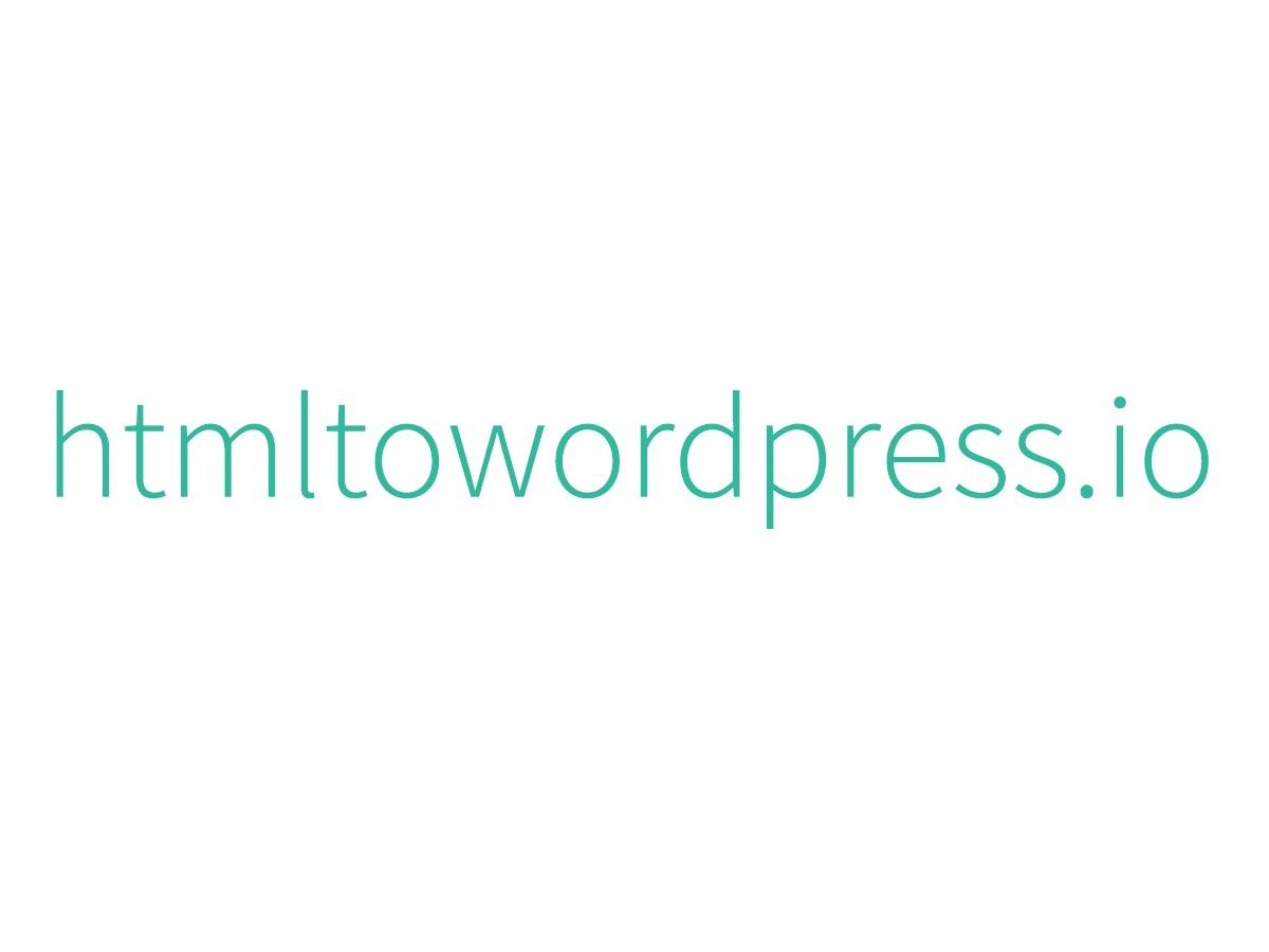Infotrellis WordPress page template