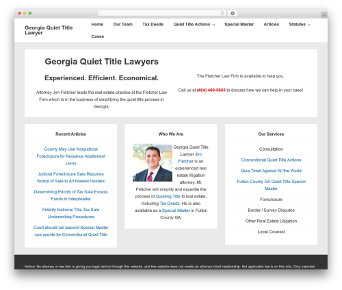 Responsive WordPress theme free download - quiettitlelaw.com