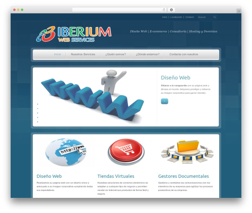 RT-Theme 14 WordPress template - iberiumweb.com