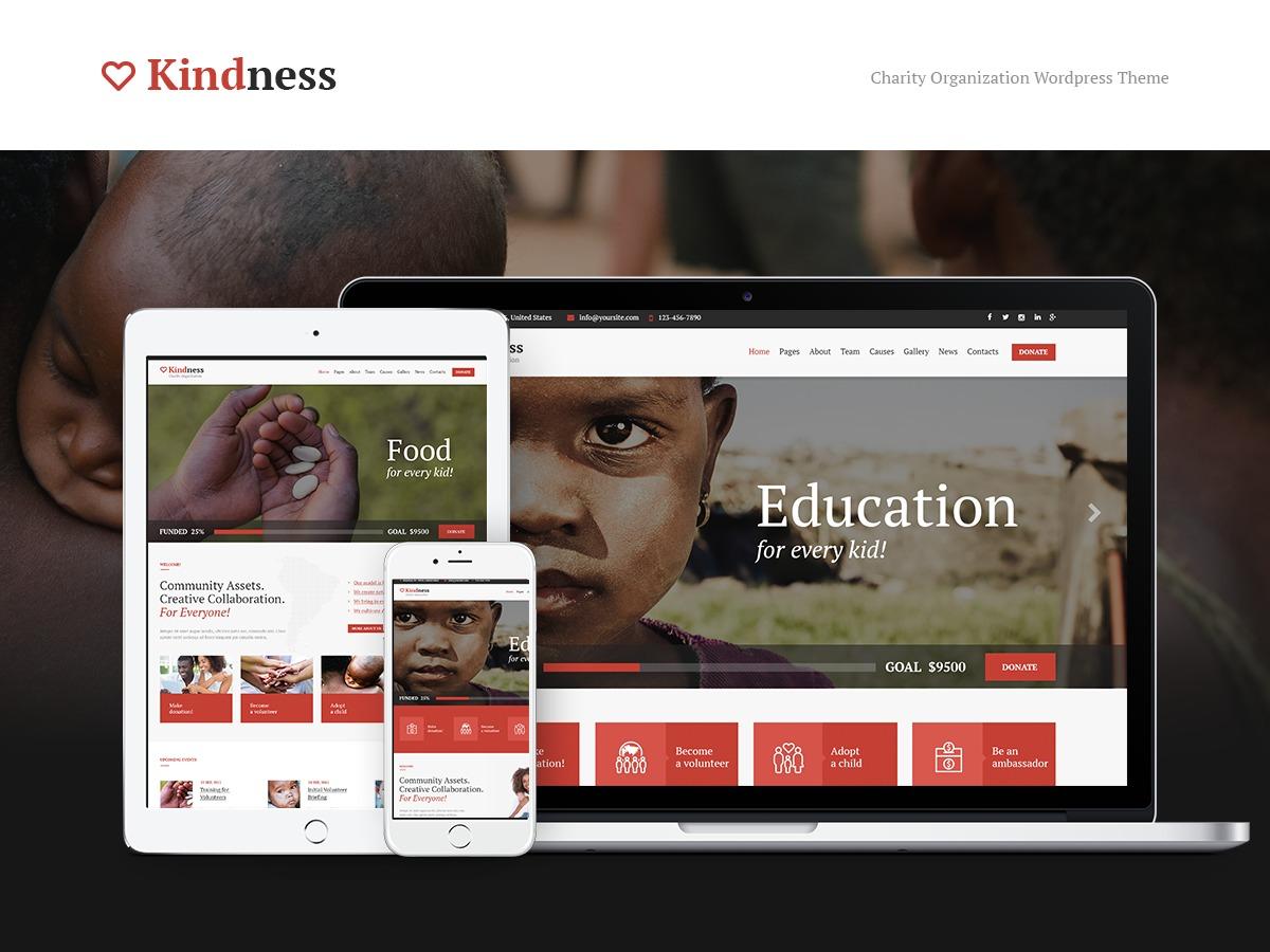Theme WordPress Kindness Child