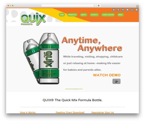 Theme WordPress Rover - quixbottle.com