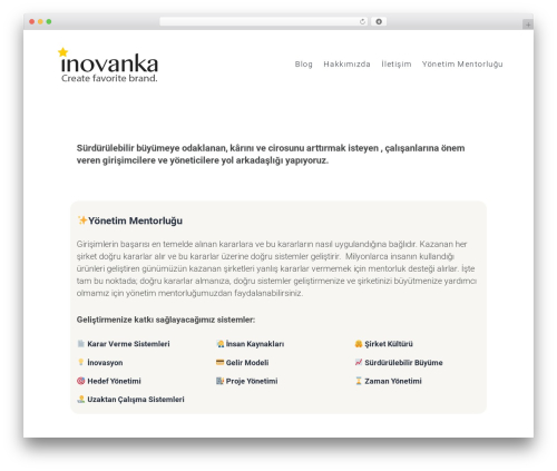 Theme WordPress SohoPRO - inovanka.com