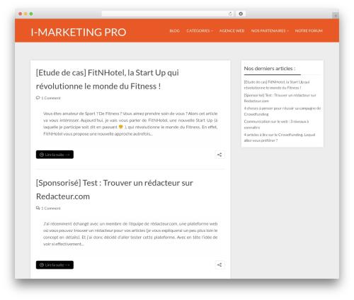 Throne business WordPress theme - i-marketingpro.com