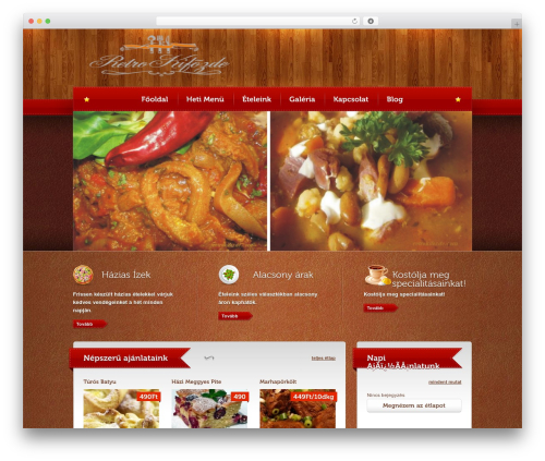 WordPress website template Bordeaux Premium Theme - retrokifozde.com