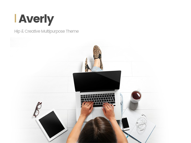 Averly Child WordPress theme design