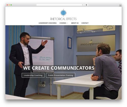 Extra theme WordPress - rhetoricaleffects.com