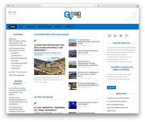 Headline News WP template - queland.es