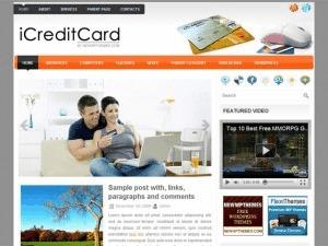 iCreditCard WordPress blog theme