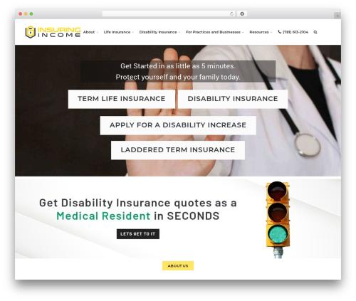 Free WordPress TablePress plugin - insuringincome.com
