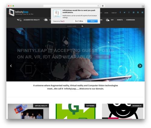 Free WordPress Social Connect plugin - infinityleap.com