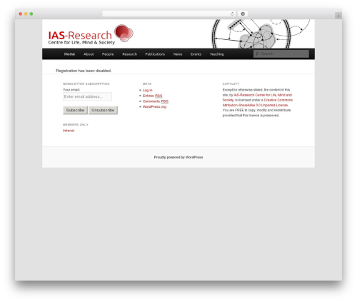 Free WordPress Twenty Eleven Theme Extensions plugin - ias-research.net/wp-signup.php?new=ias-research.org