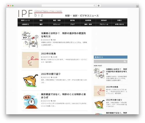WP template stinger5-child - ipfbiz.com
