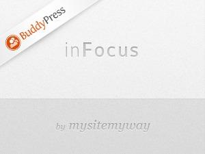 inFocus BuddyPress template WordPress