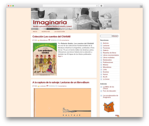 statement free WordPress theme - imaginaria.com.ar