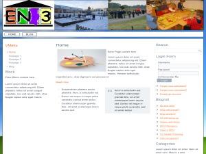 WordPress theme EN3BETA4