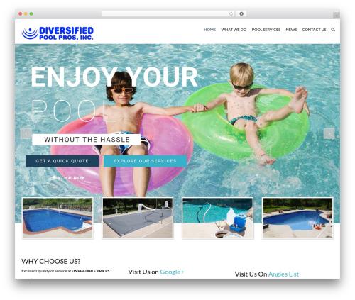 WordPress theme SwimmingPool - indypoolpros.com