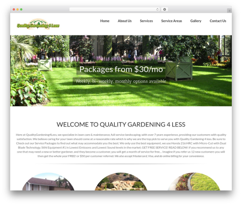 Free WordPress Image in Widget plugin - qualitygardening4less.com