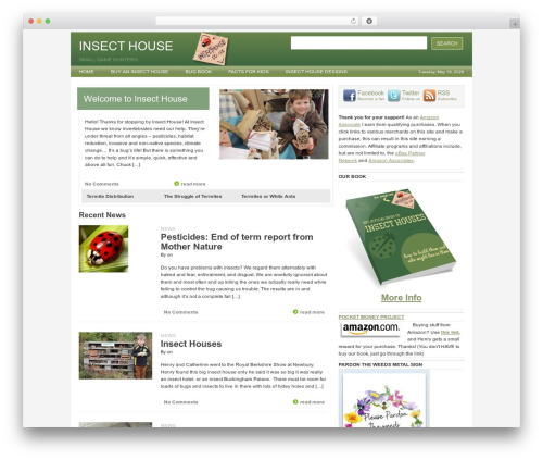 Billions WordPress gaming theme - insecthouse.co.uk