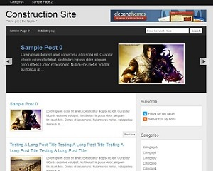 Columbus Theme WordPress blog template