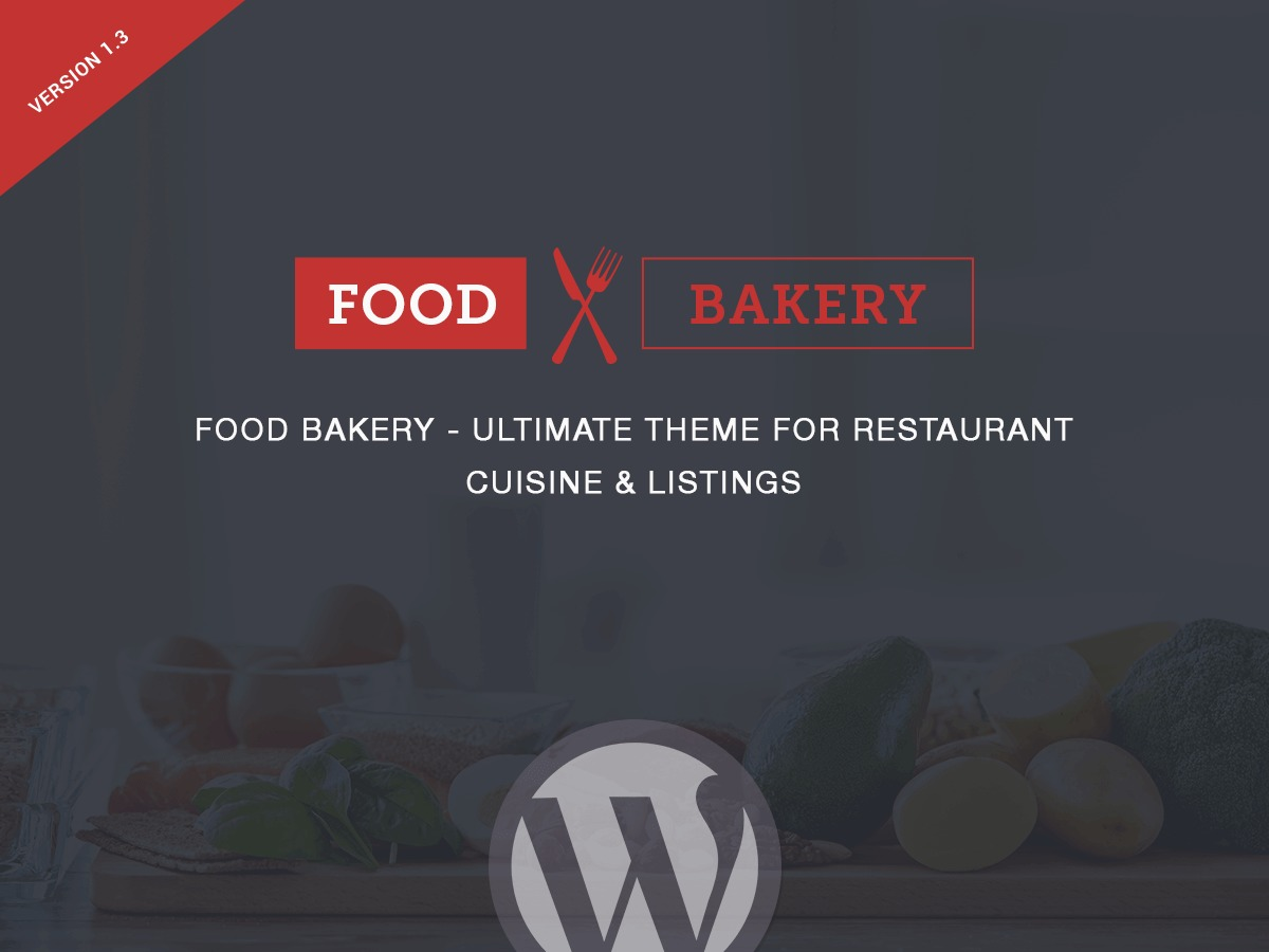 FoodBakery food WordPress theme
