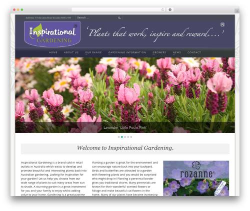 Free WordPress WP Testimonials with rotator widget plugin - inspirationalgardening.com.au
