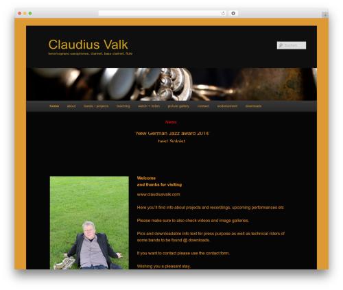 Twenty Eleven free website theme - iclaude.de