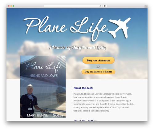 WordPress theme Booker - itsaplanelife.com