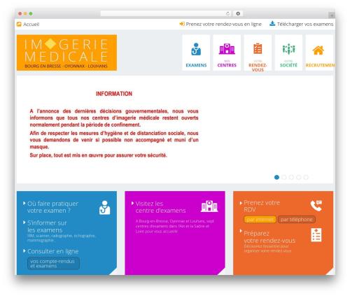 cherry best WordPress theme - imagerie-medicale-01.com