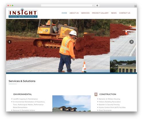 Construction best WordPress theme - ieeci.com